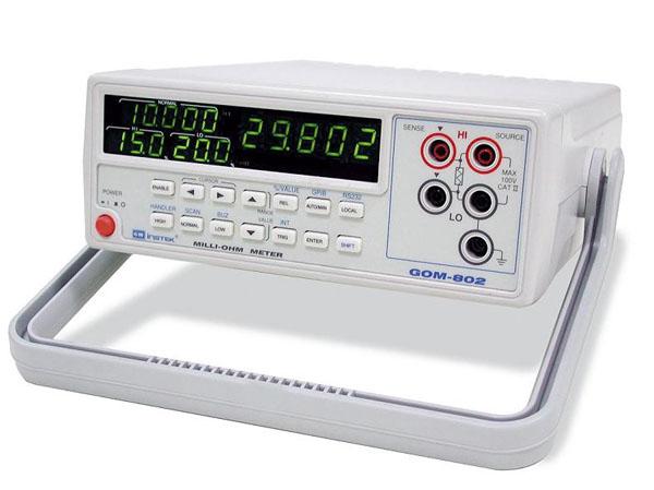 Millioommeeter GW Instek GOM-802