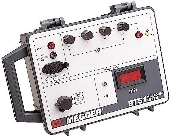Millioommeetr Megger BT-51