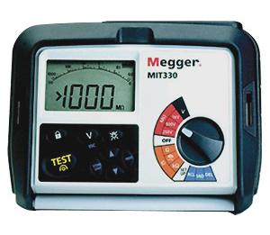 Isolatsioontakistuse mõõtja 1 kV, Megger MIT330