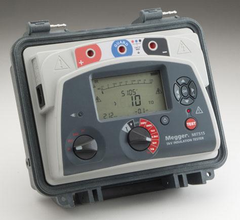 Isolatsioontakistuse mõõtja 5 kV, Megger MIT515