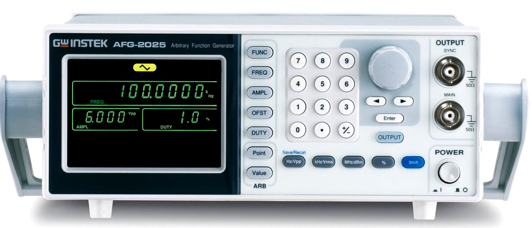 ARB-generaattori GW Instek AFG-2005