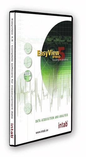 Intab- ja ACR-logerite tarkvara, Intab EasyViewPro