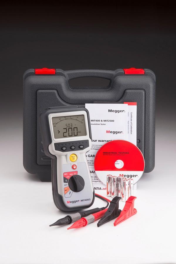 Isolatsioontakistuse mõõtja 1 kV, Megger MIT400/2