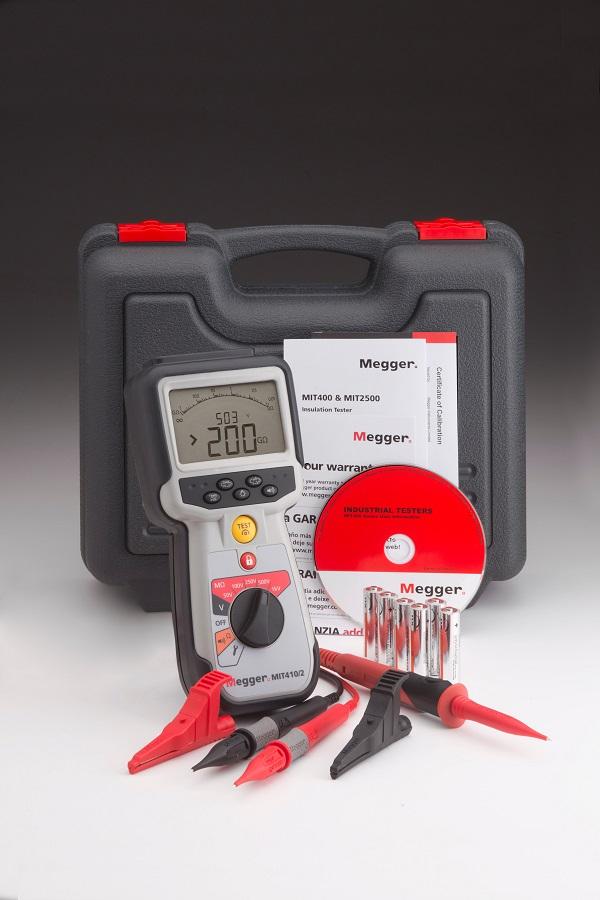 Isolatsioontakistuse mõõtja 1 kV, Megger MIT410/2