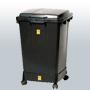 ESD konteiner, kaas ja ratastel alus 110L
