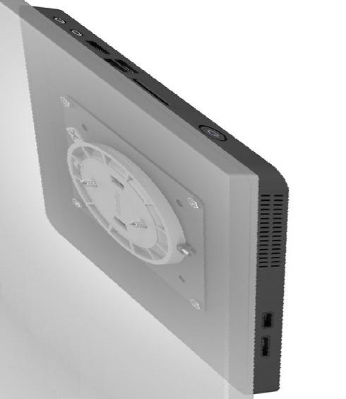 Seinäteline PC:lle tai monitorille