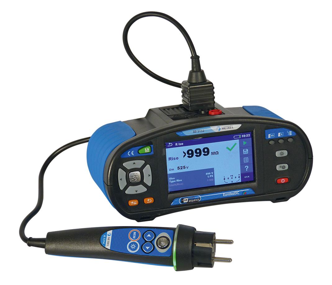 Elektripaigaldise tester Metrel MI-3152