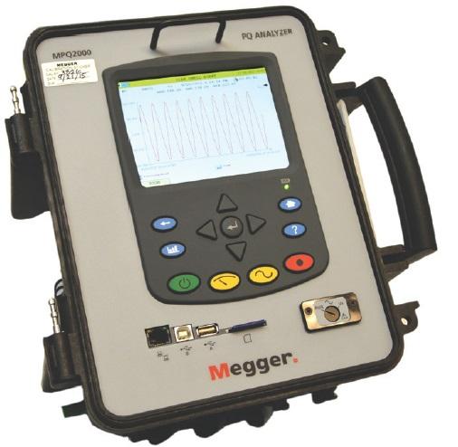 Energia-analysaattori Megger MPQ2000