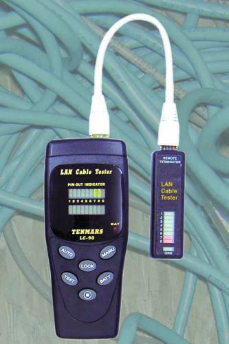 LAN-tester Tenmars LC-90
