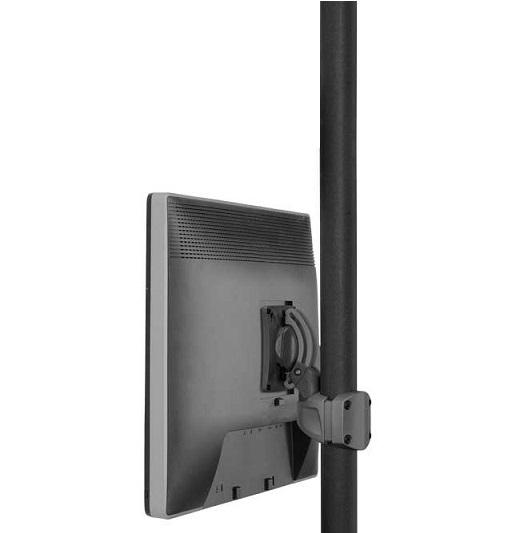 Pylväs-/kattoteline monitorille (VESA100×100 - VESA400×400)