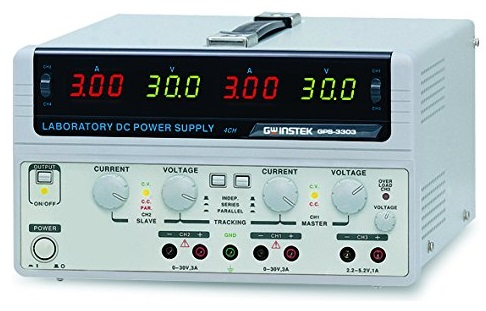 Multi-Output D.C Power Supply, 3ch