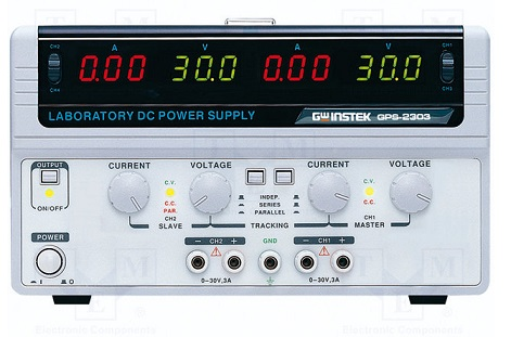 Multi-Output D.C Power Supply, 2ch