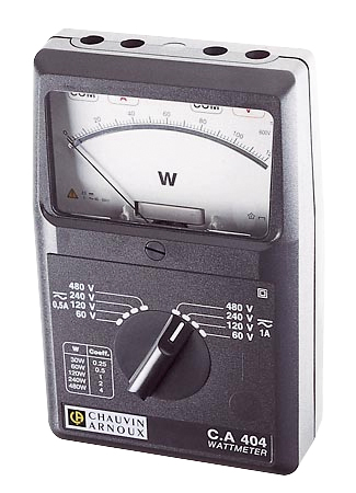 AC/DC Wattmeter P01170304