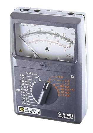 Analogue ammeter P01170301