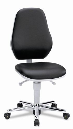 Clean room chair Bimos Basic, high