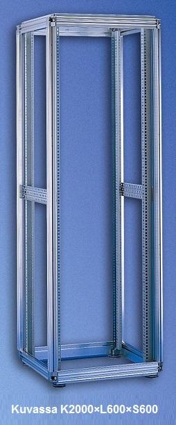 Server rack frame W600 D1000 H2000