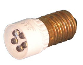 Led E-14 24VAC/DC white