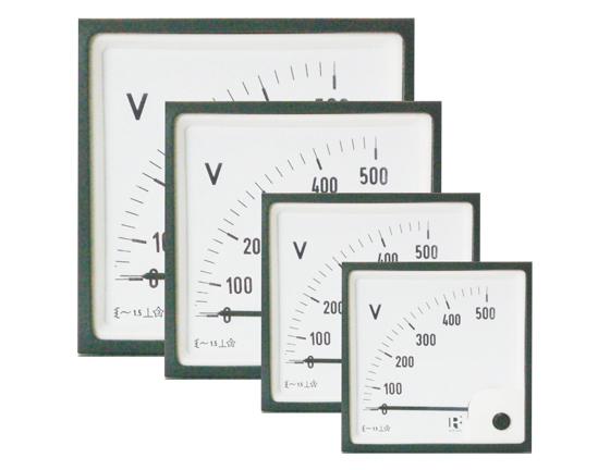 48x48 meter, scale 0-250V, IP52