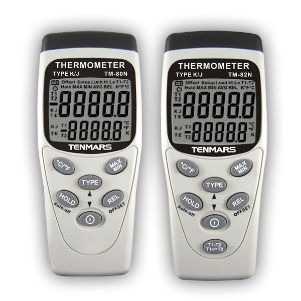 Digital single channel thermometer
