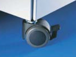 Twin swivel castors 50mm