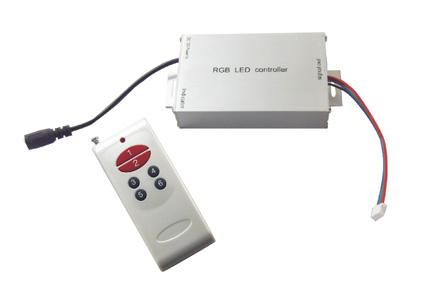 RGB-Ohjain yksinkertainen kaukosääd
