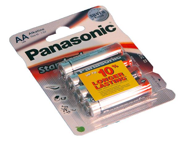 ParistoPanasonicStandardPowerAA 4kp