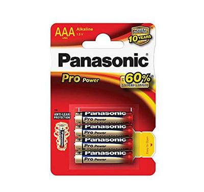 Paristo Panasonic ProPower AAA 4kpl