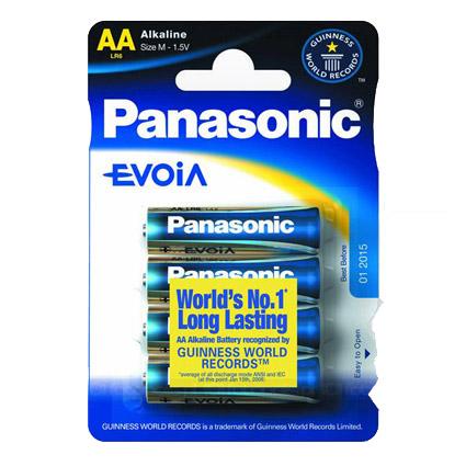 Paristo Panasonic Evoia LR6/AA 4kpl