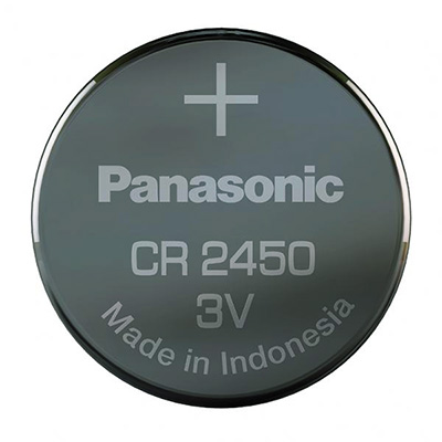 Panasonic CR2450 3V Litium 620mAh