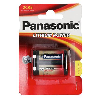 Panasonic 2CR5M 6V Litium 1600mAh