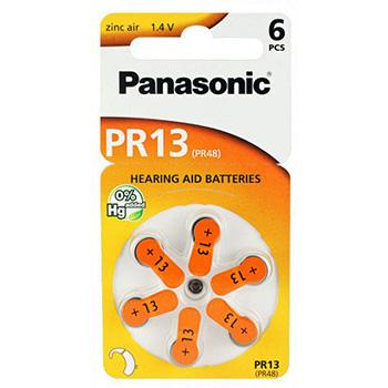 Paristo Panasonic PR13 265mAh 6kpl