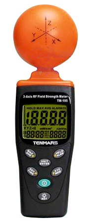 3 axis RF Field Strenght Meter