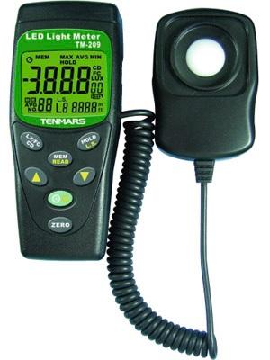 Led light meter