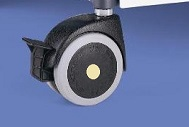 ESD castors 80 mm (Smaract)