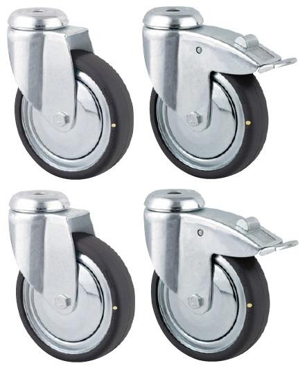 ESD castors 80mm (DoubleProRack)