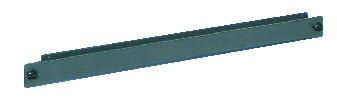 1U Quick-fix panel (6 pcs) RAL7021