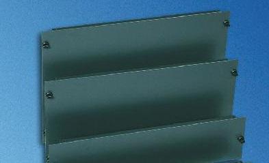 6U Quick-fix panel (1 pc.) RAL7021