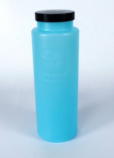 ESD bottle round with cap 900ml