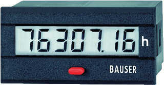 LCD Time Counter 12-24VDC