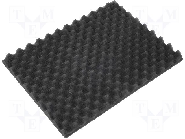 PU FoamELS soft dark 548x348x15/7mm