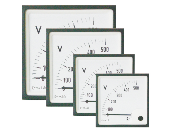 Meter with dial 0-40VDC