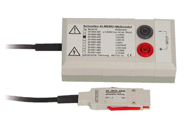 Measuring module f DC voltage, isol