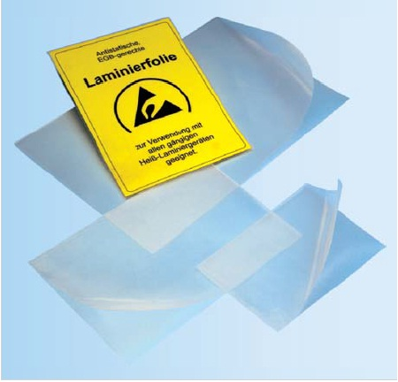 Dissip.lamination sheet DINA3/100pc