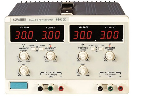 Regulated dual DC Power supply