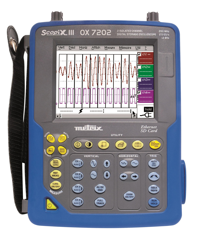 SCOPIX III 2X200MHz Color TFT Scree