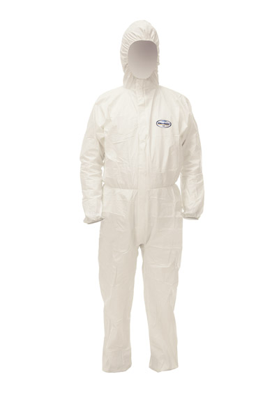 KLEENGUARD A40 Coverall, Hood /L