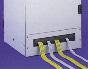 Connection panel +cable cutout