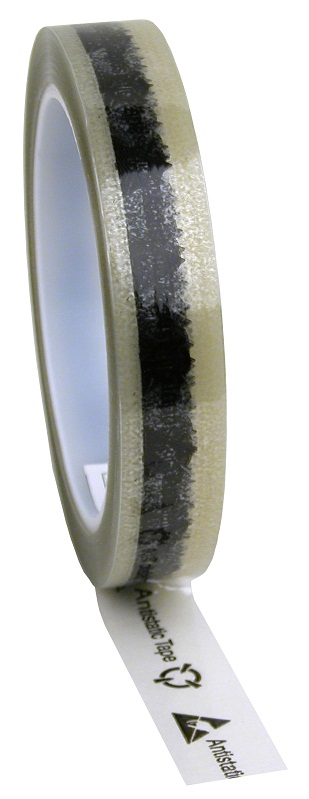 Tape,Clear, ESD Symbol 18mm/65,8m