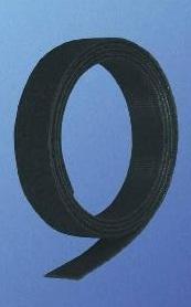 Velcro strip1000x16 black (1m)