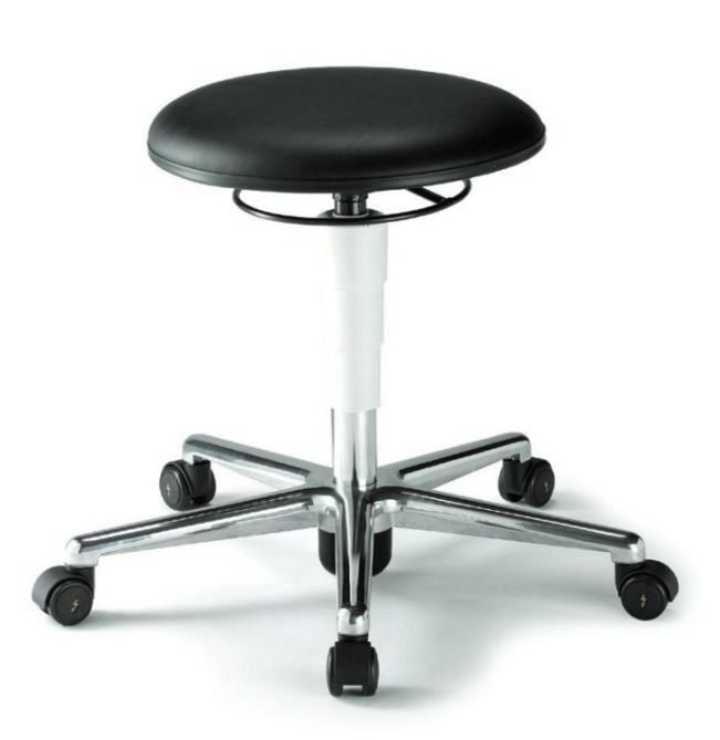 Bimos Cleanroom Stool with castors